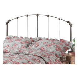 Hillsdale Furniture - Hillsdale Bonita Panel Headboard with Rails - Full/Queen - A classic style, this bed features a traditionally designed silhouette that will remain in vogue for years to come.