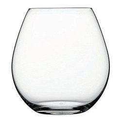 Hospitality Glass - Vintage 23.25 oz Stemless Burgundy Wine Glasses 24 Ct - Vintage 23.25 oz Stemless Burgundy