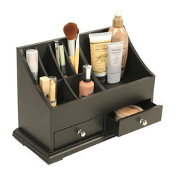 Richards Homewares - Personal Small Organizer - Our Personal Small Organizer Keeps yourpersonal items in order and easier than ever. This organizer has plenty of compartments and drawers to store your essentials. Whether its for the bathroom, bedroom or office.