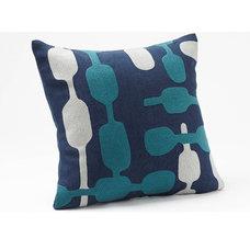 Overlap Crewel Pillow | Coyuchi