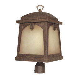 Designers Fountain - Designers Fountain ES21026 Asian Single Light Up Lighting Energy Star Outdoor Po - Features: