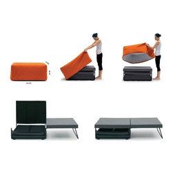 Modern sofa beds - CA 17 - Made in Italy - Modern sofa beds, sectional sofa beds, sofa beds storage, wall beds, Italian furniture, modern furniture, designer furniture, transformable furniture and space saving furniture from $ 1990