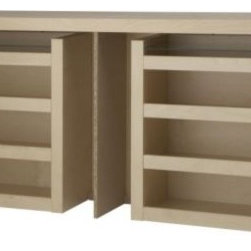 Eva Lilja Löwenhielm - Malm 3-Piece Headboard/Bed Shelf Set, Birch Veneer - This makes all your storage easy to reach!
