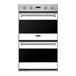 """Viking 3 Series 30"""" Double Oven, White 