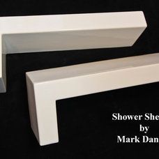 Modern Showers by Bathroom Tile Shower Shelves