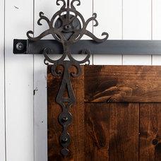 Traditional Barn Door Hardware by Rustica Hardware