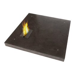 Biofire Coffee Table - Ivanka produces this fabulous combination concrete table and bioethanol firepit. The double-duty design is great for smaller spaces because it is two products in one.