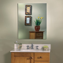 Broan-NuTone - Broan-Nutone Metro Oversize Deluxe 20W x 25H in. Medicine Cabinet 52WH254DP Mult - Shop for Bathroom Cabinets from Hayneedle.com! Mirrors mirrors on the wall ... and in the wall and on the door. The Broan-Nutone Metro Oversize Deluxe Medicine Cabinet - 20W x 25H in. has mirrors on both sides of the door and on the back wall too for all the sparkle and shine you could hope for. The large frameless mirror is available with or without a beveled glass edge. Other options abound: the door is reversible to open left or right and you can choose from two extra-large sizes. Open the door of the NuTone Metro Medicine Cabinet to find 5 glass shelves that will adjust to fit your needs. Recessed mounting provides extra room inside and it looks deeper with the mirrored wall background. Notice how quietly the door closes thanks to rubber bumpers. It's simply beautiful. Size options in inches: Overall dimensions: 20W x 5D x 25HRough opening: 19.25W x 3.5D x 24H About Broan-NuToneBroan-NuTone has been leading the industry since 1932 in producing innovative ventilation products and built-in convenience products all backed by superior customer service. Today they're headquartered in Hartford Wisconsin employing more than 3200 people in eight countries. They've become North America's largest producer of medicine cabinets ironing centers door chimes and they're the industry leader for range hoods bath and ventilation fans and heater/fan/light combination units. They are proud that more than 80 percent of their products sold in the United States are designed and manufactured in the U.S. with U.S. and imported parts. Broan-NuTone is dedicated to providing revolutionary products to improve the indoor environment of your home in ways that also help preserve the outdoor environment.