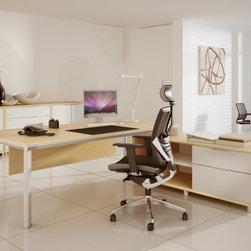 Yi B executive desk -