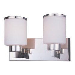 Z-Lite - Z-Lite 313-2V-CH Cosmopolitan 2 Light Bathroom Vanity Light in Chrome - This 2 light Vanity from the Cosmopolitan collection by Z-Lite will enhance your home with a perfect mix of form and function. The features include a Chrome finish applied by experts. This item qualifies for free shipping!