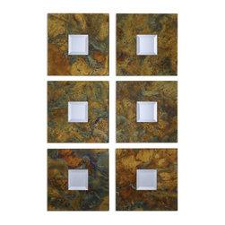 Uttermost - Ambrosia Squares Mirror Set 2 - Ambrosia Squares Mirror Set 2