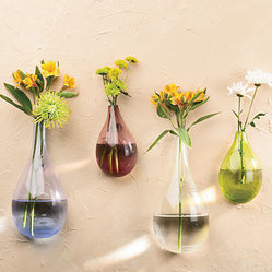 Teardrop Wall Vases