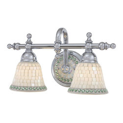 Minka Lavery - Minka Lavery ML 6052 2 Light Bathroom Vanity Light from the Piastrella Collectio - Two Light Bathroom Vanity Light from the Piastrella CollectionFeatures: