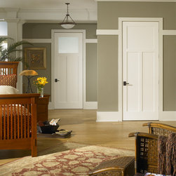 Arts & Crafts door - TruStile TS3300 in MDF with square stick (SS) sticking and flat (C) panel