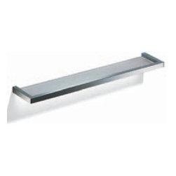 Modo Bath - Flash L204 Bathroom Shelf in Chromed Stainless Steel - Flash L204 Bathroom Shelf in Chromed Stainless Steel