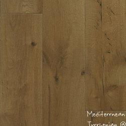 "Gemwoods Mediterranean Collection - Mediterranean Tyrrhenian 8"" French Oak hardwood. Available at HFOfloors.com."