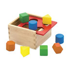 The Original Toy Company - The Original Toy Company Shape Sorter - Our sorting box is made of sturdy harwood construction offereing 4 geometric colorful shapes, packaged in retail packaging. Weighs approximately 2.00 pounds.