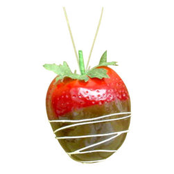 Silk Plants Direct - Silk Plants Direct Chocolate Dipped Strawberry Ornament (Pack of 72) - Red - Pack of 72. Silk Plants Direct specializes in manufacturing, design and supply of the most life-like, premium quality artificial plants, trees, flowers, arrangements, topiaries and containers for home, office and commercial use. Our Chocolate Dipped Strawberry Ornament includes the following: