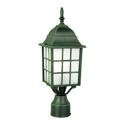 Trans Globe - Trans Globe 4421 RT 1-Light Post Lantern - Trans Globe 4421 RT 1-Light Post Lantern