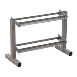 PowerLine PDR282X 32 in. 2 Tier Dumbbell Rack