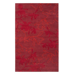 """Surya Rugs - Organic Modern Plush Pile Area Rug OMR-1003 - 100% Wool. Style: Contemporary. Rugs Size: 2'6"""" x 8'. Note: Image may vary from actual size mentioned."""