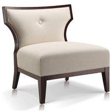 Contemporary Living Room Chairs by Jane Lockhart Interior Design