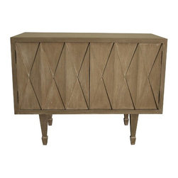 NOIR - NOIR Furniture - Robert Console in Weathered - GCON193WEA - Features: