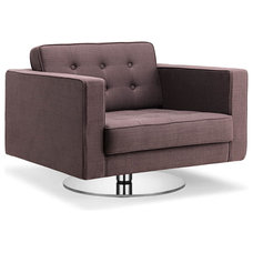 Modern Armchairs And Accent Chairs Chelsea Coffee Swivel Arm Chair