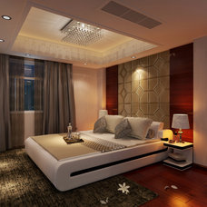 Contemporary Bedroom by Limitless