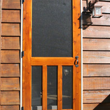 Traditional Screen Doors by Turtle River Millwork