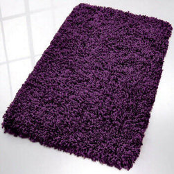 Fantasy Modern Shag Bath Rug from Vita Futura - One of the most unique bath rugs in our collection. This super soft polyacrylic shag bath rug is available in range of sizes and very exciting colors.