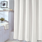 Grand Luxe - Veratex 72-inch Shower Curtain Liner - With a versatile ivory or white exterior,this Veratex liner is the perfect addition to your bathroom. Lightweight and unique,this liner adds a designer feel to your decor.