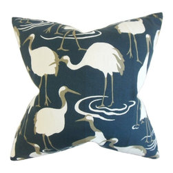 """The Pillow Collection - Unai Animal Print Pillow 20"""" x 20"""" - Display this unique accent pillow to your interiors and bring a funky vibe."""