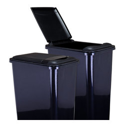 Hardware Resources - Lid for 35-Quart Plastic Waste Container Black - Lid for 35 Quart Plastic Waste Container  Black.  9 3/8 x 14 1/2 x 1 5/8.  Made of high quality polymer.  Fits CAN 35 trash can.