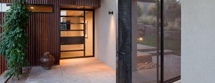 lake flato architects: desert house in santa fe