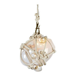Eco Friendly Lighting - Knotty Bubbles Pendant by Lindsey Adelman for Roll & Hill