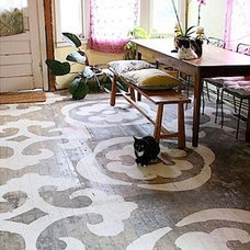 French By Design: Trend Alert : Painted Rug