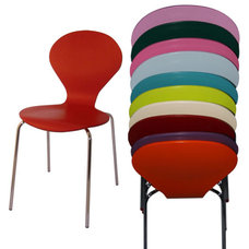 contemporary dining chairs by purves & purves