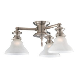 Rejuvenation: Dining Room - The Chapman. This semi-flush ceiling light is defined by its spool-like center that gives it a solid, stylish feel. Select from 2, 3, or 4 lights. Multiple finish and shade options available.