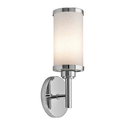 Kichler Lighting - Kichler Lighting 10680CH Chrome Wall Sconce - Kichler Lighting 10680CH Chrome Wall Sconce