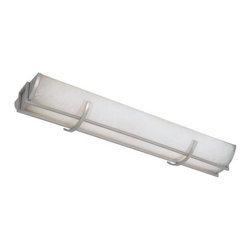 World Imports - Model 7203-37: Brushed Nickel Linear Flush Fluorescent - The kitchen has become less of a functional space and more of a living space. We have added fluorescent lights in our best selling families to combine style with function in the kitchen. World Imports - 461410