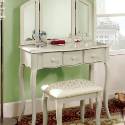 White Vanity Table - white vanity table