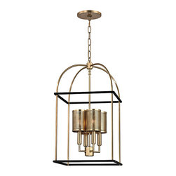 HUDSON VALLEY LIGHTING - Hudson Valley Lighting Vestal-Pendant Aged Brass - Free Shipping