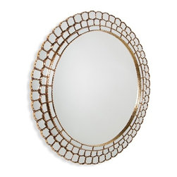 Interlude - Zahara Mirror - Classic shapes make a bold statement when they're realized in the form of the dramatically proportioned Zahara Mirror.