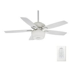 "Casablanca - Casablanca Utopian Gallery Utopian 52"" 5 Blade Ceiling Fan - Blades, Light Kit, - Features:"