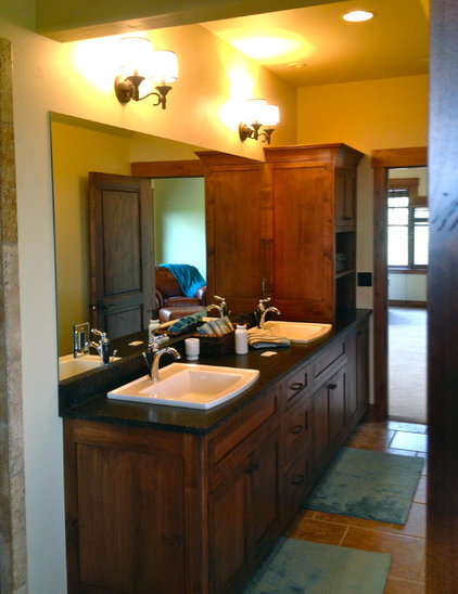 Traditional Bathroom by Big Mountain Builders