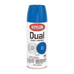 DIVERSIFIED BRANDS KRYLON - 8820 12Oz SP True Blue Dual Paint - Krylon(R) Dual Paint + Primer Aerosol