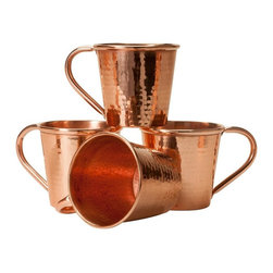 Sertodo Moscow Mule Mug, Hammered Copper - Uniting modern style with ancient craft, we created our 12 ounce Moscow Mule mug in the social spirit of enjoying your time and company, the ritual of mixing your cocktails and serving your guests.