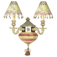 Eclectic Wall Sconces by MacKenzie-Childs