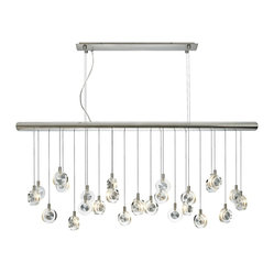 "LBL Bling Crystal Discs 41 1/4"" Wide Chandelier"